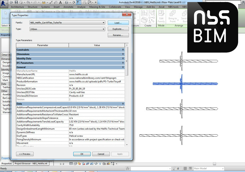 Helifix supports digital transition with BIM object library